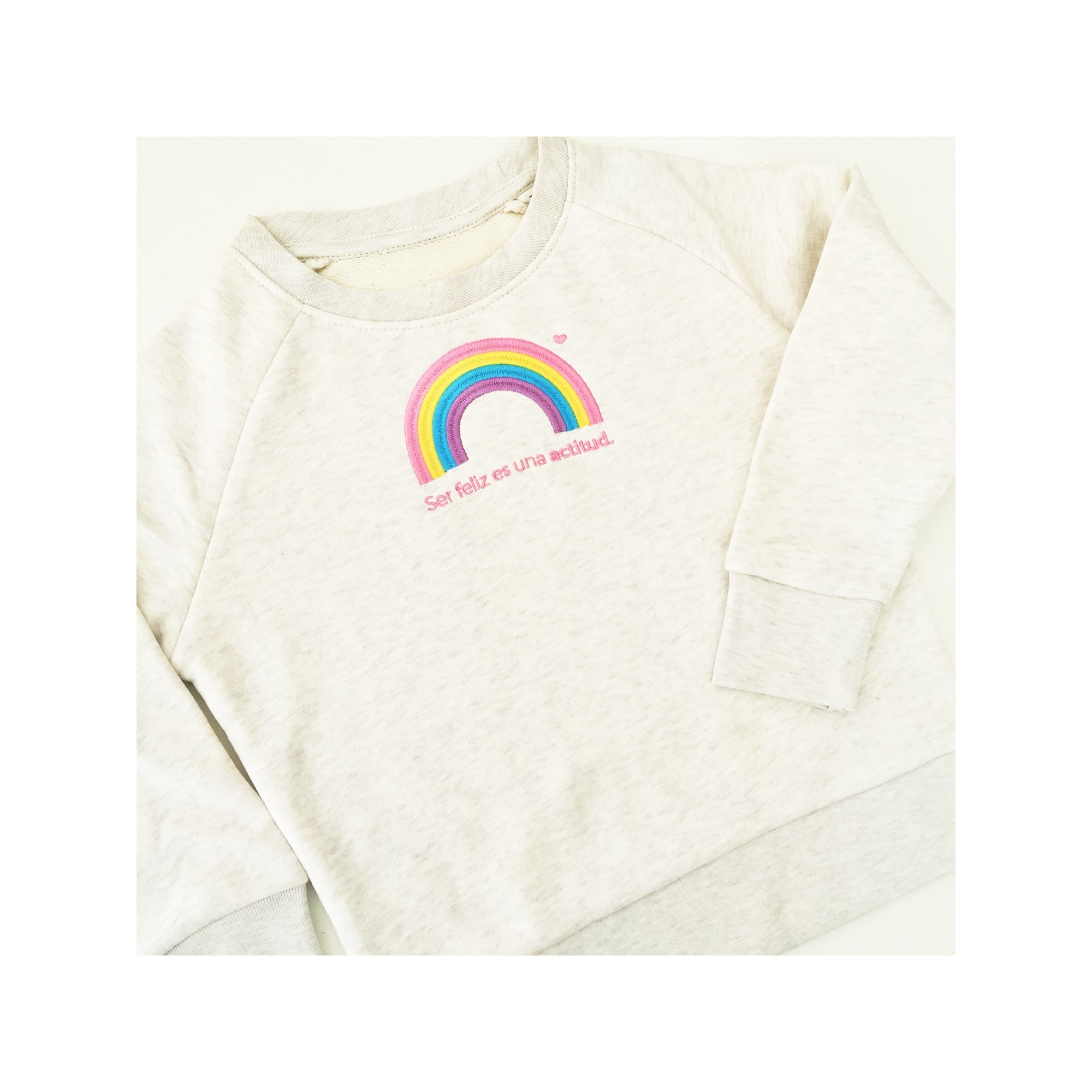 Sudadera Arcoiris mini